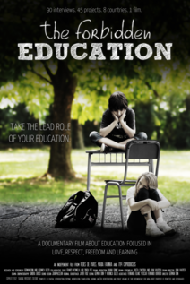 Small cartaz the forbidden education