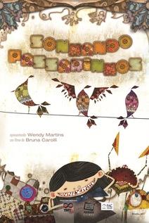 Small cartaz sonhando passarinhos