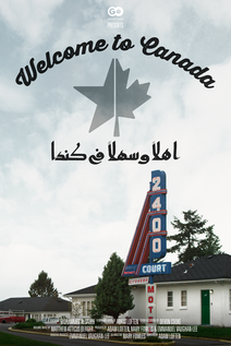 Small poster welcome to canada fin