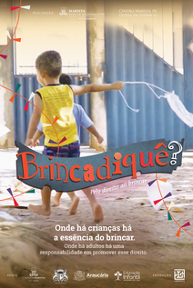 Small cedin brincadeque poster