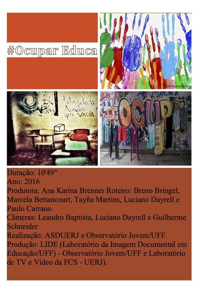 #Ocupar Educa