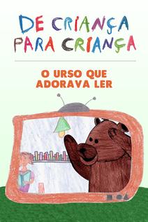Small capa o urso que adorava ler