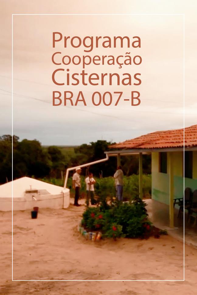 Programa Cooperação Cisternas BRA 007-B