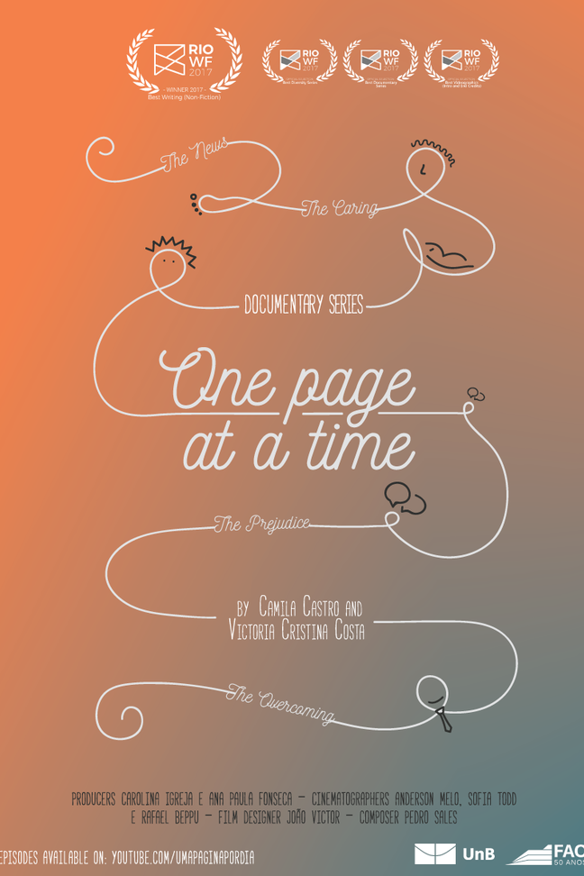 One page at a time - Ep 1: The News