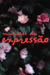 Small cartaz mulheres de express%c3%a3o