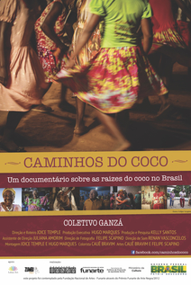 Small cartaz caminhos do coco